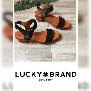 Lucky Brand wedges. Size: 9.5